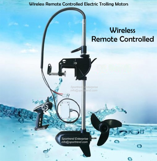 Wireless Remote Control Electric Trolling Motors for Unmanned Surface Vehicle