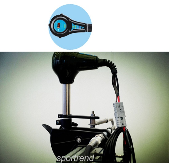 Front Mount Outboard Steering Electric Trolling Motors
