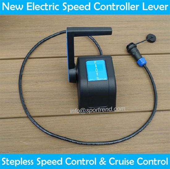 Speed Controller Lever for Brushless Trolling Motors