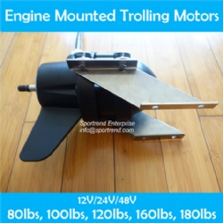 Engine Mount Electric Trolling Motors Saltwater for Outboards